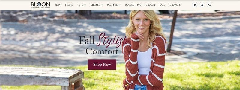 Bloom ist spezialisiert auf Boutique-Großhandel Kleidung