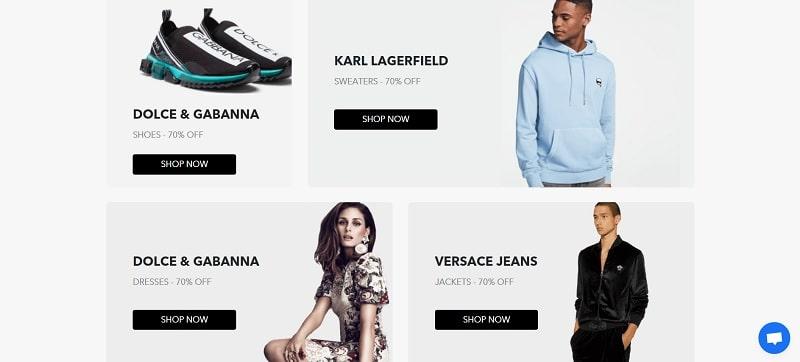 BrandsGateway ist ein Bekleidungslieferant für Boutiquen, die Designerkleidung verkaufen