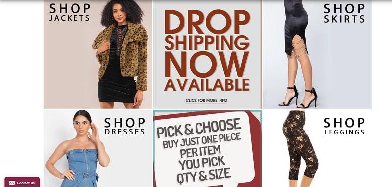 CCWholesaleClothing bietet Großhandelskleidung und Accessoires