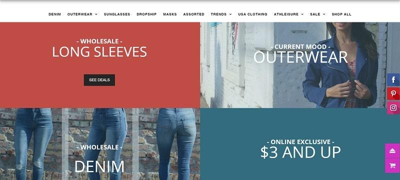 Großhandels-Boutique-Kleidung gibt es bei Good Stuff Apparel zu kaufen
