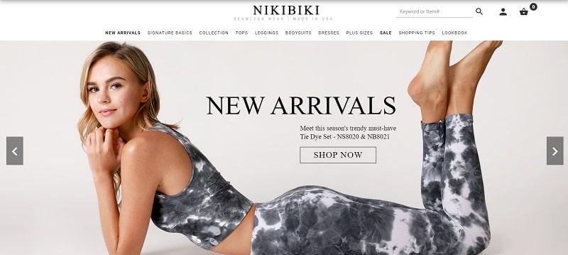 Activewear ist die Spezialität von Nikibiki's specialty