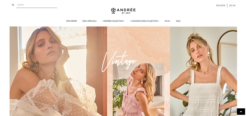 Andree wholesale clothing for women
