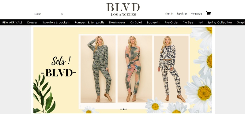 Wholesale clothing by BLVD