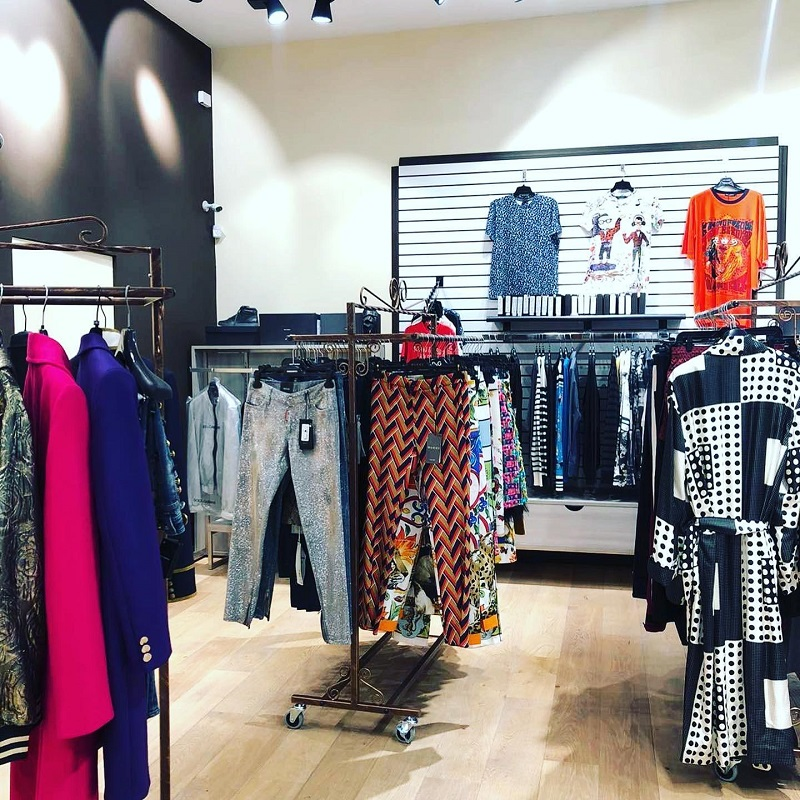 BrandsGateway is the supplier of the luxury clothing featured in this boutique