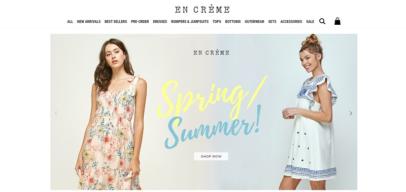 Wholesale clothing from En Creme