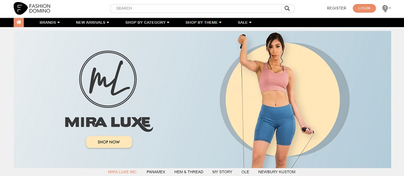 Women's active wear at wholesale prices