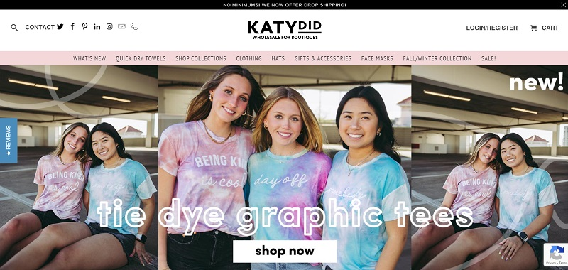 List of wholesale clothing suppliers in the USA