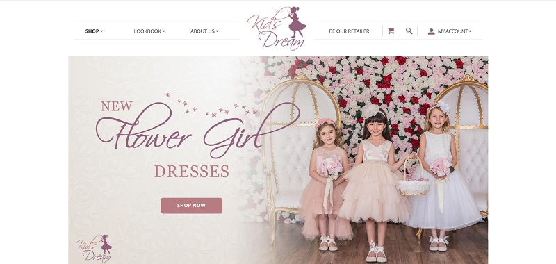 Buy wholesale kids' clothing and accessories at Kids' Dream