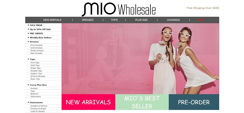 Wholesale clothing for women of all ages