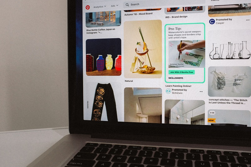 How to use Pinterest business
