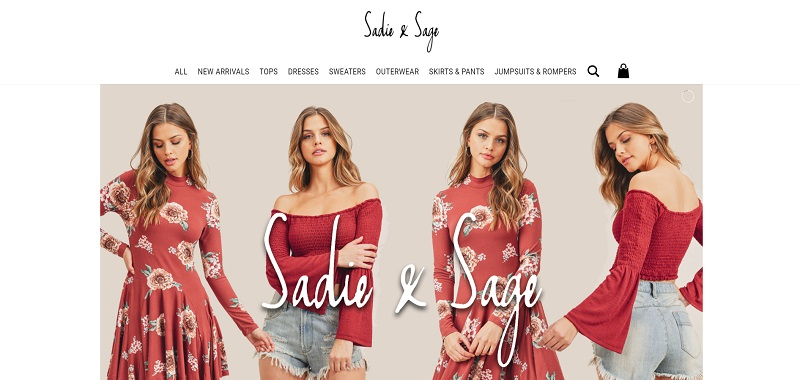 USA-based wholesale supplier for casual women's clothing