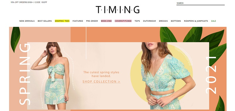 Timing Wholesale - clothing for women