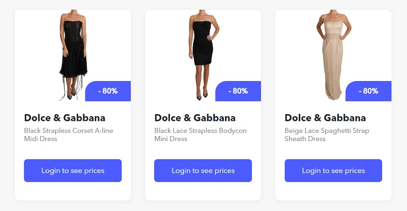 Dropshipping Dolce & Gabbana products