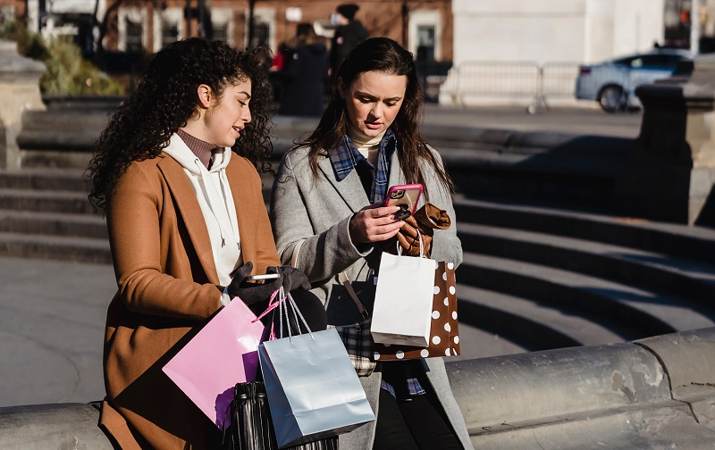 Mobile shopping on the go