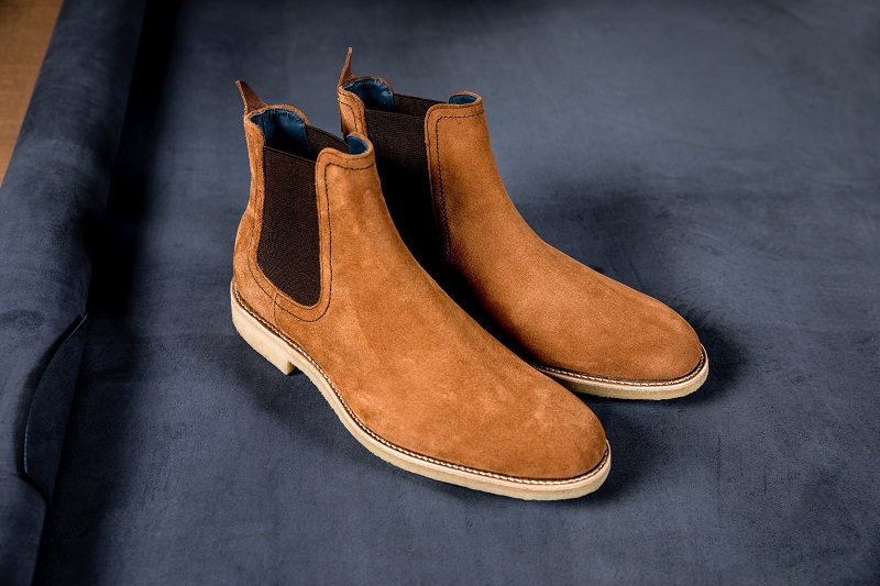 Chelsea boots are popular men's shoes